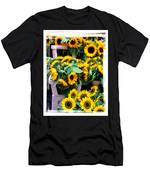 Amsterdam Sunflowers Men's T-Shirt (Athletic Fit)