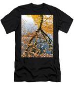 Anchorage In Autumn Men's T-Shirt (Athletic Fit)