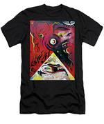 Andromeda Galaxy Men's T-Shirt (Athletic Fit) by John Jr Gholson