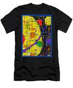 arriving at the nu planet Z-98 Men's T-Shirt (Athletic Fit)