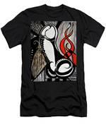 Art Deco Penis Painting Men's T-Shirt (Athletic Fit)