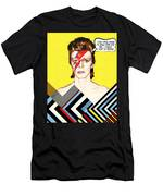 David Bowie Pop Art Men's T-Shirt (Athletic Fit)