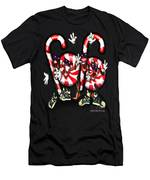 Candy Cane Gang Men's T-Shirt (Athletic Fit)