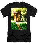 At The End Of The Path Men's T-Shirt (Athletic Fit)