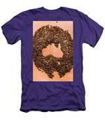 Australia Cafe Artwork Men's T-Shirt (Athletic Fit)