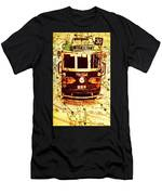 Australia Travel Tram Map Men's T-Shirt (Athletic Fit)