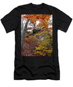 Autumn At Beech Forest Men's T-Shirt (Athletic Fit)