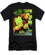 Autumn Fruits. Men's T-Shirt (Athletic Fit)