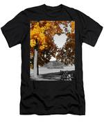 Autumn Love  Men's T-Shirt (Athletic Fit)