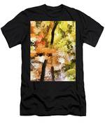 Autumn Trees In The Fog Men's T-Shirt (Athletic Fit)