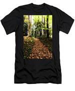 Autumn's Trail Men's T-Shirt (Athletic Fit)
