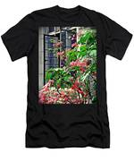 Azaleas At The Window   Men's T-Shirt (Athletic Fit)