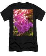 Backlit Bougainvillea Men's T-Shirt (Athletic Fit)