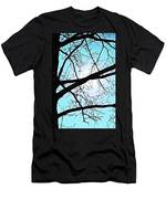 Backlit Tree Men's T-Shirt (Athletic Fit)