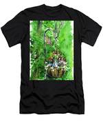 Backyard Hanging Plant Men's T-Shirt (Athletic Fit)