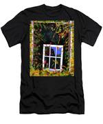 Backyard Window Men's T-Shirt (Athletic Fit)