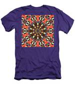Balance Mandala  Men's T-Shirt (Athletic Fit)