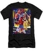 Bali Barong And Kris Dance  - Paint Men's T-Shirt (Athletic Fit)
