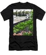 Bali Lady Fountain Men's T-Shirt (Athletic Fit)