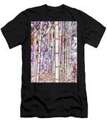 Bamboo Texture Men's T-Shirt (Athletic Fit)