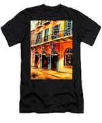 Banners On Royal Street Men's T-Shirt (Athletic Fit)