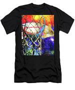 Basketball Artwork Version 179 Men's T-Shirt (Athletic Fit)