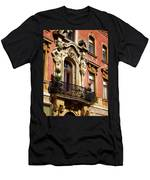 Beautiful Balcony In Austria Men's T-Shirt (Athletic Fit)
