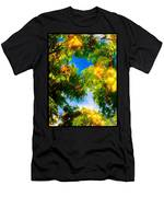 Beautiful Tree Tops In Sky Men's T-Shirt (Athletic Fit)