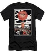 Berlin Potolowsky - Friedrichstrass Passage - Germany - Retro Travel Poster - Vintage Poster Men's T-Shirt (Athletic Fit)