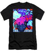 Big Colorful Lillies 2 Men's T-Shirt (Athletic Fit)