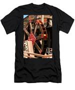 Big Wheels Keep On Turning Men's T-Shirt (Athletic Fit)