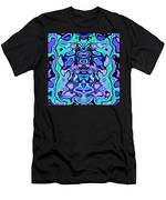 Biomorphic #1 Men's T-Shirt (Athletic Fit)