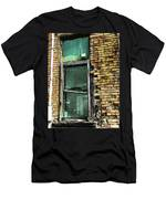 Bird In The Window Men's T-Shirt (Athletic Fit)