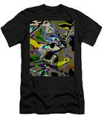 Birds That Fly In Electric Skies Men's T-Shirt (Athletic Fit)