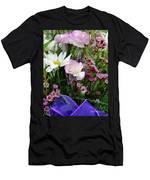 Birthday Flowers Men's T-Shirt (Athletic Fit)
