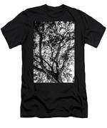 Black And White Tree 2 Men's T-Shirt (Athletic Fit)