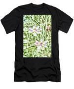 Blossom Pink Lotus Flower Men's T-Shirt (Athletic Fit)