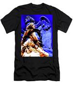 Blue Angel Wings Men's T-Shirt (Athletic Fit)