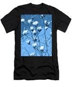 Blue Magnolia Men's T-Shirt (Athletic Fit)
