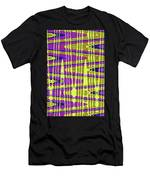 Blue Sky And Color Squares Abstract,#4 Men's T-Shirt (Athletic Fit)