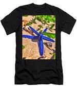 Blue Starfish Men's T-Shirt (Athletic Fit)