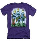 Blues Bonnets Men's T-Shirt (Athletic Fit)