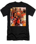 Blues On Bourbon Street Men's T-Shirt (Athletic Fit)