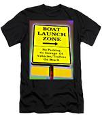 Boat Launch Men's T-Shirt (Athletic Fit)