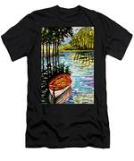 Boat On The Bayou Men's T-Shirt (Athletic Fit)