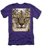 Bobcat Whiskers Men's T-Shirt (Athletic Fit)