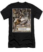 Bookkeeper, 16th Century Men's T-Shirt (Athletic Fit)