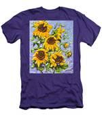 Bouquet Del Sol Sunflowers Men's T-Shirt (Athletic Fit)