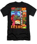 Bourbon Street Neon Men's T-Shirt (Athletic Fit)