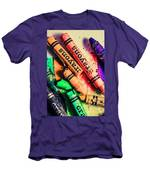 Breaking The Creative Spectrum Men's T-Shirt (Athletic Fit)